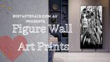 Figure Wall Art Prints Video