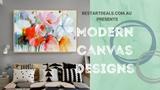 Modern Canvas Designs Video