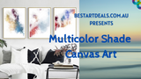 Multicolor Shade Canvas Art Video