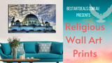 Religious Wall Art Prints Video