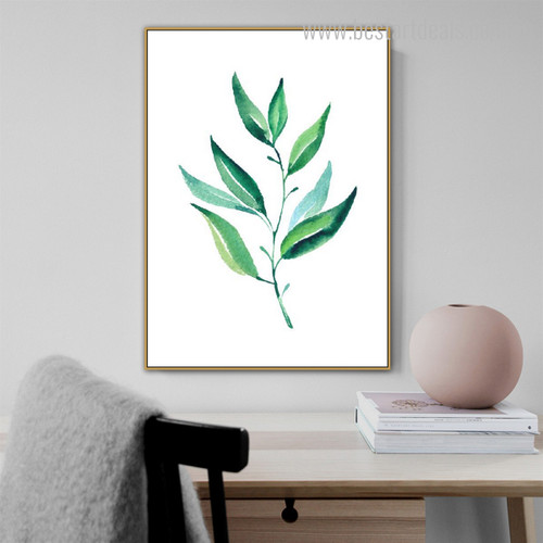 Petal Abstract Botanical Minimalist Modern Framed Tableau Photo Canvas Print for Room Wall Garniture
