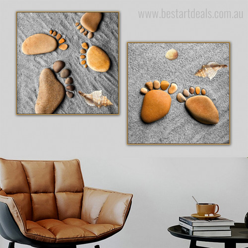 Pins Abstract Nordic Modern Framed Tableau Image Canvas Print for Lounge Room Wall Adornment