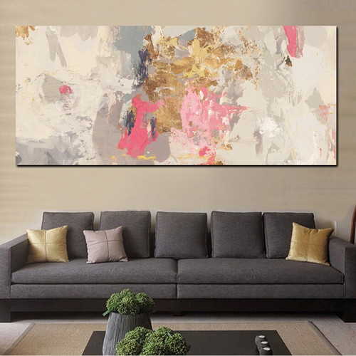 Abstract Art Craft Hand Painting Print for Room Wall Decoration