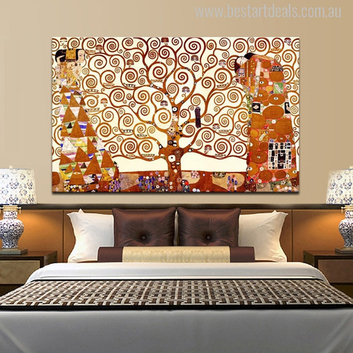 The Tree of Life Print for Room Wall Art Decoration