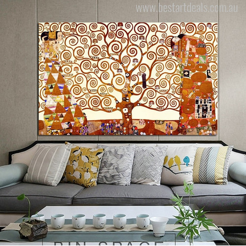 The Tree of Life Print for Living Room Wall Art Decoration