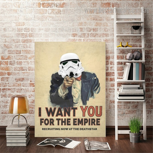 I Want You Quote Modern Framed Artwork Pic Canvas Print for Room Wall Outfit