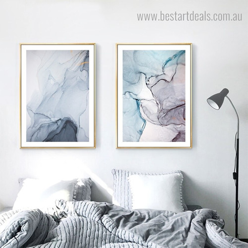 Marble Rock Abstract Modern Framed Painting Photograph Canvas Print for Room Wall Drape