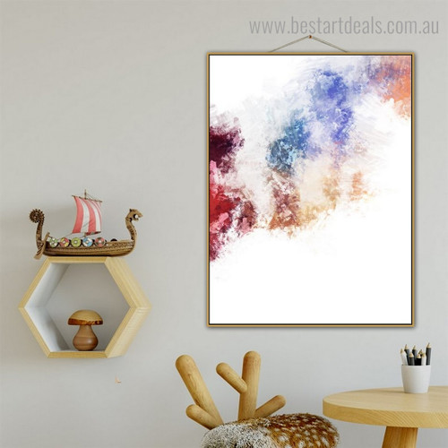 Colorful Texture Abstract Modern Framed Portrayal Pic Canvas Print for Room Wall Garniture