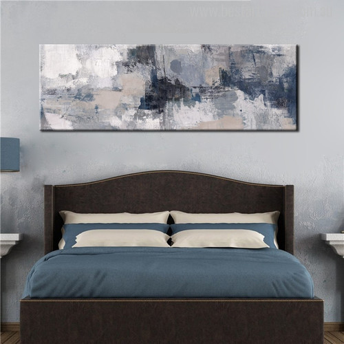 Abstract Black Painting Canvas Print for Wall Hanging