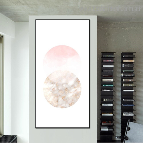 Spheric Marble Abstract Modern Framed Painting Pic Canvas Print for Room Wall Outfit