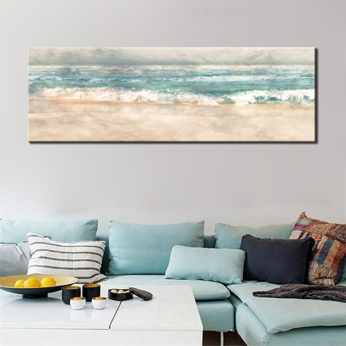 Coast Marvelous Abstract Watercolor Artwork Print