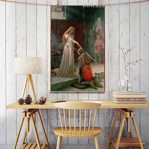 The Accolade Painting Print for Wall Decor
