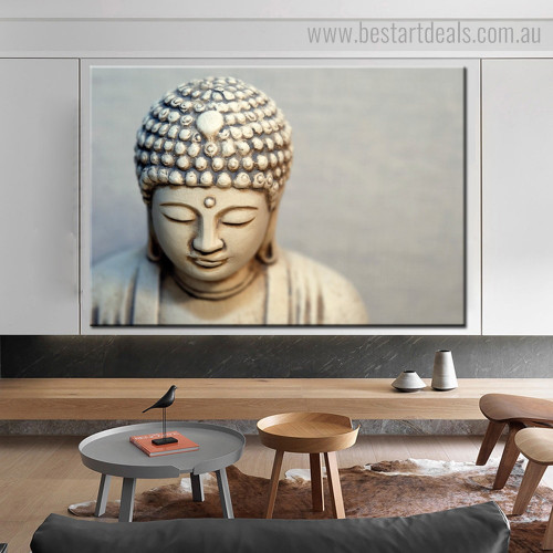 Buddha Iconoclast Religious Modern Framed Painting Pic Canvas Print for Room Wall Garnish
