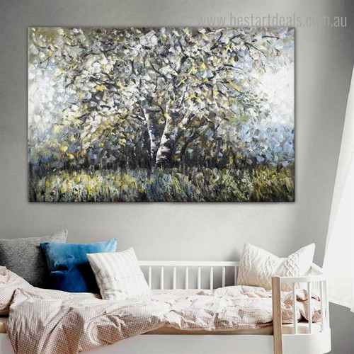 Big Arbor Abstract Nature Modern Framed Painting Photograph Canvas Print for Room Wall Finery