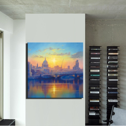 Roman Catholic Church Abstract Religious Framed Painting Image Canvas Print for Room Wall Outfit