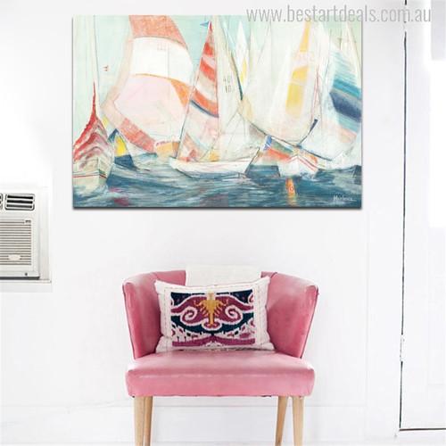 Sailboat Painting Print