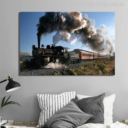 Vapor Locomotive for Picture Print