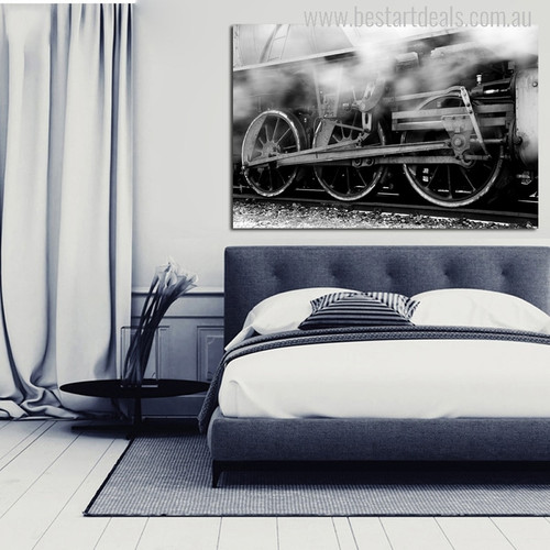 Locomotive Engine Picture Print