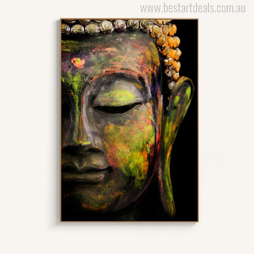 Lord Buddha Painting Print