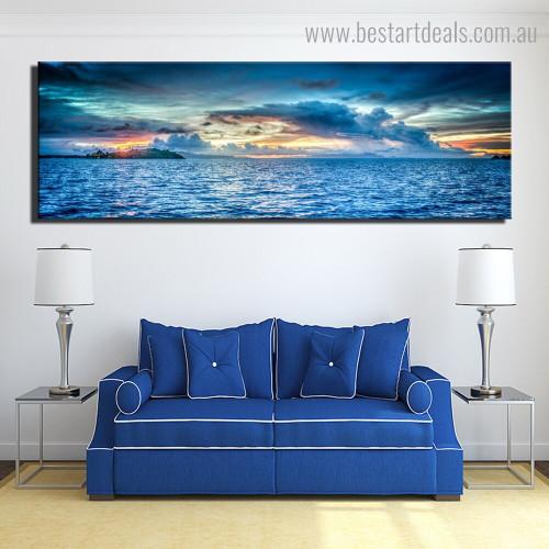 Profound Landscape Nature Framed Artwork Photo Canvas Print for Room Wall Garnish
