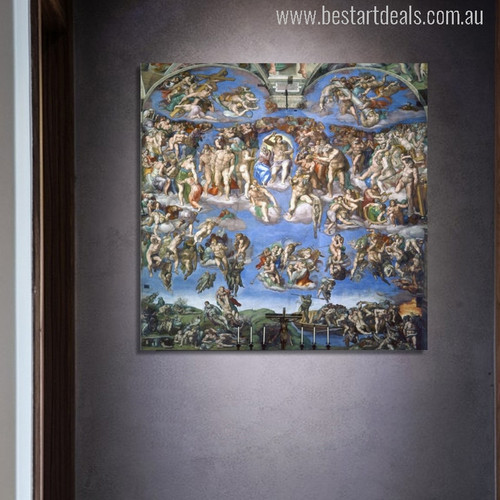 The Sistine Chapel Ceiling Painting Print