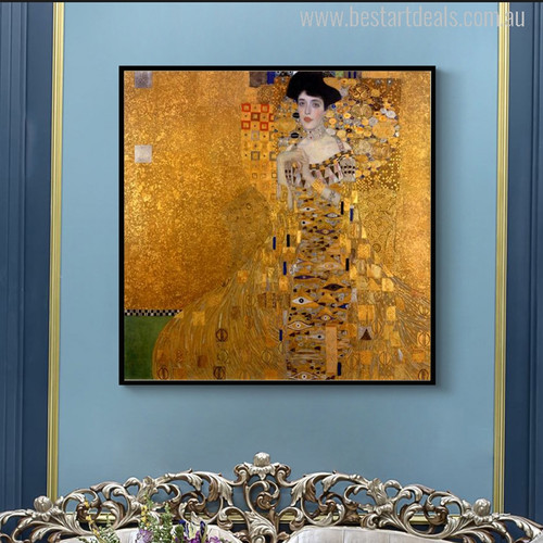 Adele Bloch Bauer I Painting Canvas Print