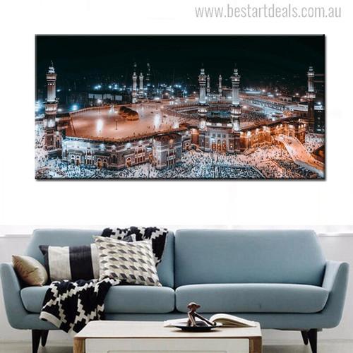 Islamic Mecca Painting Print
