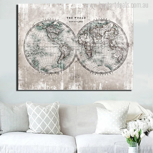 The World Painting Print