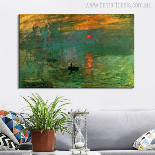 Sunrise Painting Print
