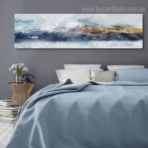 Mountainscape Abstract Nature Artwork Photo Canvas Print for Room Wall Assortment