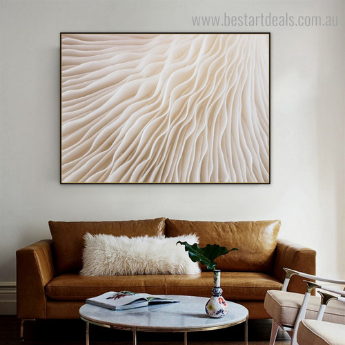 Sajor Caju Abstract Framed Artwork Picture Canvas Print for Room Wall Decor
