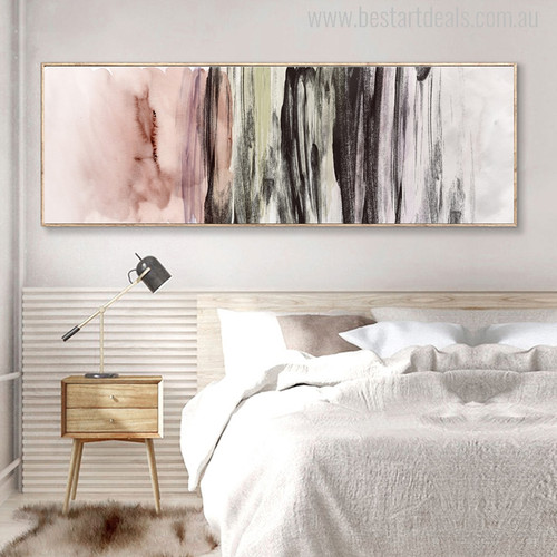 Abstract Colors Painting Canvas Print