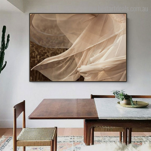Dancing in Tulle Abstract Contemporary Framed Painting Pic Canvas Print for Room Wall Decor