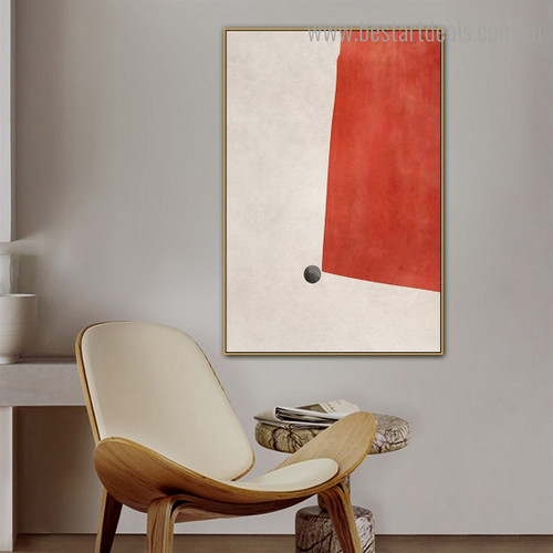 Spheroidal Abstract Modern Framed Painting Photo Canvas Print for Room Wall Decoration