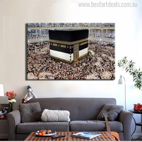Masjid Al Haram Modern Islamic Picture Print