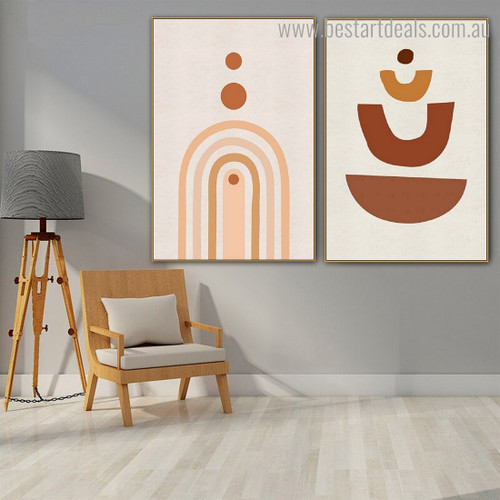 Spiral Lines Abstract Contemporary Framed Portraiture Image Canvas Print for Room Wall Drape