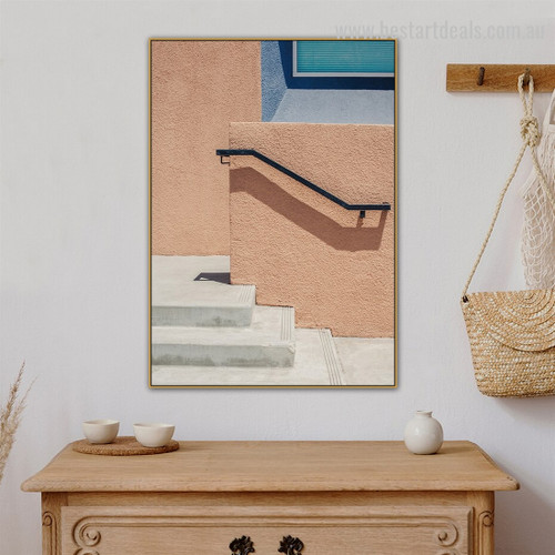 Stargoon Walls Abstract Architecture Modern Framed Artwork Canvas Prints for Room Wall Ornament