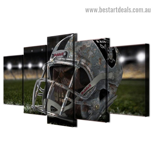 Baseball Head Helmet Sports Modern Artwork Photo Canvas Print for Room Wall Ornament