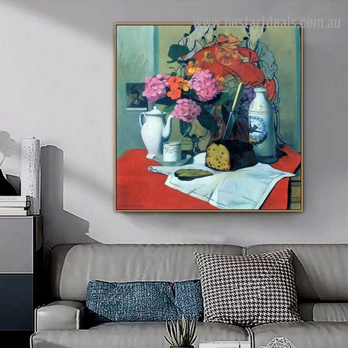 Still Life in Chinese Félix Edouard Vallotton Impressionism Artwork Picture Canvas Print for Room Wall Ornament
