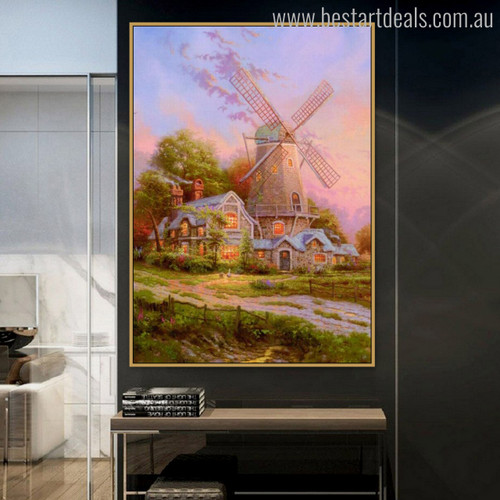 Wind of the Spirit Reproduction Painting Canvas Print for Wall Molding