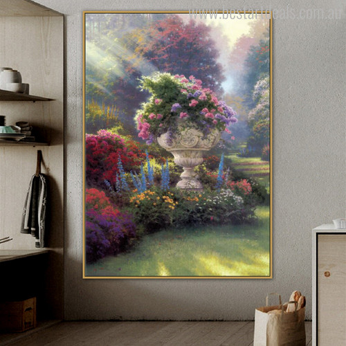 The Garden of Hope Botanical Reproduction Painting Picture Print for Wall Disposition