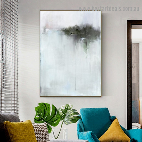 Dapple Design Abstract Vintage Framed Artwork Photo Canvas Print for Room Wall Adornment
