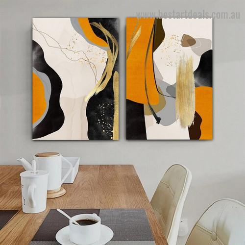 Dapple Blemish Art Abstract Modern Framed Portrait Photo Canvas Print for Room Wall Garnish