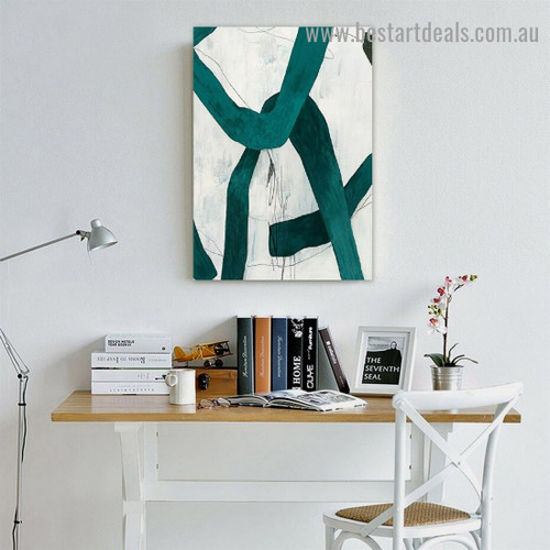 Devious Abstract Modern Framed Artwork Painting Canvas Print for Room Wall Ornament