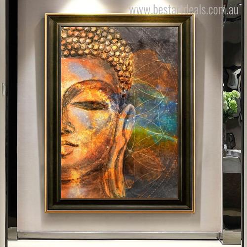 Gautama Religion & Spirituality Contemporary Wall Art Print for Room Assortment