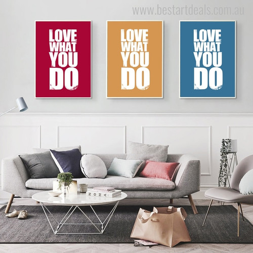 What Do Contemporary Quotes Painting Canvas Print for Living Room Wall Flourish