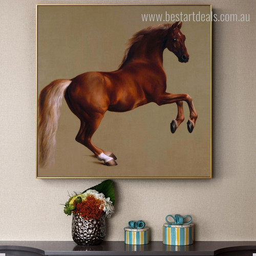 Whistlejacket Vintage Reproduction Animal Painting Image Canvas Print for Room Wall Decor