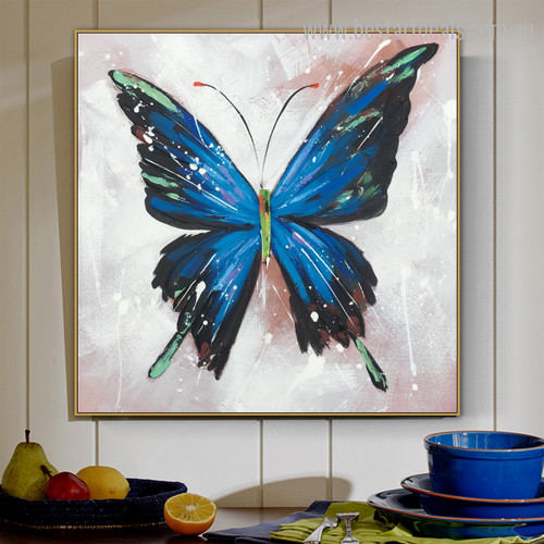 Pipevine Swallowtail Animal Framed Modern Painting Photo Canvas Print for Room Wall Getup