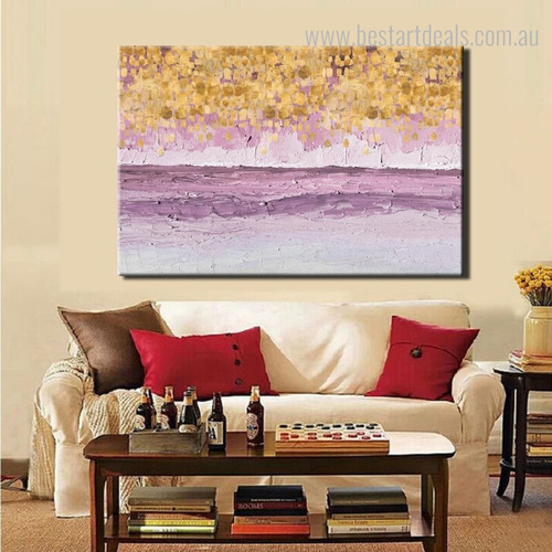 Money Wave Abstract Modern Framed Vignette Portrait Canvas Print for Lounge Room Wall Molding