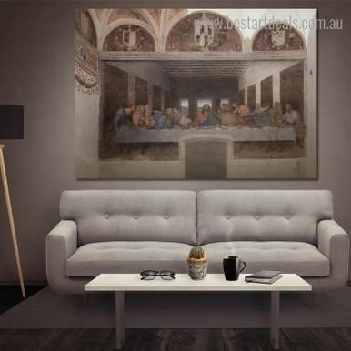 Buy The Last Supper Canvas Print Wall Art Decor